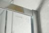 Polysan LUCIS LINE čtvrtkruhová sprchová zástěna 1200x900mm, L/R DL5015