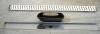 Polysan SCENE plastový sprchový kanálek s nerezovým roštem, 720x123x68 mm 71676
