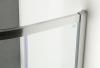 Gelco AKCE čtvrtkruhová sprchová zástěna 900x900x1900mm, čiré sklo AG4290