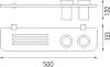 Nimco Bormo ixi Police a sklenky na kartáčky BR X350-58DW-26