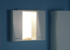 Aqualine ZOJA/KERAMIA FRESH galerka s LED osvětlením, 70x60x14cm, bílá 45025