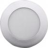 Sapho START LED podhledové svítidlo, 6W, 230V, 120mm, denní bílá, 390lm, stříbrná LDD232