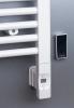 Sapho Elektrická topná tyč s termostatem a dálkovým ovládáním, 300 W, D-tvar, bílá HVD-300