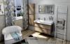 Sapho SKA sušák ručníků na opření 420x1700x20mm, bílá mat SKA561
