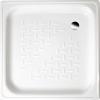 Aqualine Smaltovaná sprchová vanička, čtverec 70x70x12cm, bílá PD70X70