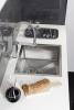 Sapho MAYA stojánková dřezová baterie se sprškou, chrom MA780