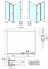 Polysan Easy Line obdélníkový sprchový kout 1500x900mm L/P varianta EL1515EL3315