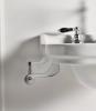 Kerasan WALDORF držák ručníků 40cm, chrom 740890