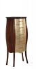 Gallo Wood GELSO 55 doplňková skříňka se zásuvkami 55x131x35cm, noce/oro CGO-55