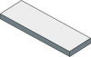 Sapho TAILOR rockstone deska 200x50 cm, provedení límce R TR200R