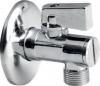 Aqualine Rohový kulový ventil 1/2'x3/8', bez matky, s filtrem, chrom 5312