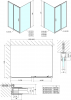 Polysan Easy Line obdélníkový sprchový kout 1600x900mm L/P varianta EL1815EL3315