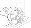 Sapho Bidetová sprcha s dvojventilem pro napojení vody na WC nádržku 1209-04