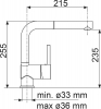 Granitový dřez Sinks NAIKY 980 Titanium+MIX 3P GR TLN980MI3P72
