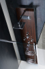 Polysan FLAT CUBE sprchový panel 400x2000mm, Wenge 80720-0203