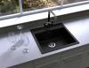 Granitový dřez Sinks SOLO 560 Metalblack ACRSO56051074