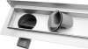Sapho Náhradní sifon nízký 62mm, DN50 mm, 48l/min FP925