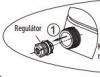 Sapho Regulátor k bidetovému sedátku LB402, LB802 NDLB02-4