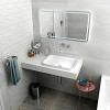 Sapho TAILOR rockstone deska 250x50 cm, provedení límce R TR250R