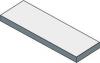 Sapho TAILOR rockstone deska 140x50 cm, provedení límce R TR140R