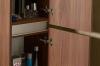 Sapho Skříňka vysoká 35x140x30cm, levá/pravá, borovice rustik LA452LP
