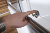 Polysan CARMEN čtvercová sprchová zástěna 800x800x1500mm, čiré sklo MD5215