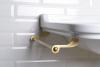 Kerasan WALDORF držák ručníků 40cm, bronz 740893