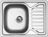 Nerezový dřez Sinks OKIO 650 V 0,6mm texturovaný RDOKT6505006V