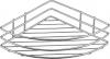 Aqualine CHROM LINE drátěná police rohová jednoduchá, chrom 37005