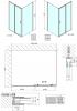 Polysan Easy Line obdélníkový sprchový kout 1400x1000mm L/P varianta EL1415EL3415