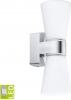 Sapho CAILIN nástěnné svítidlo G9-LED, 2x2, 5W, 230V, IP44, chrom 94989
