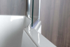 Polysan PALOMA vanová zástěna 900mm, čiré sklo BS-90