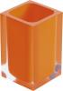 Gedy RAINBOW sklenka na postavení, oranžová RA9867