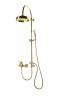 Reitano Rubinetteria VANITY sprchový sloup k napojení na baterii, retro, zlato SET065