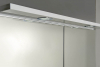 Aqualine KAWA galerka s LED osvětlením 80x70x24cm, bílá WGL80
