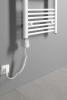 Aqualine Elektrická topná tyč s integrovaným termostatem 900W, bílá TS-900B