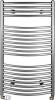 Aqualine Otopné těleso oblé 970/450, 419 W, metalická stříbrná ILA94