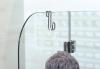 Aqualine Závěsný háček na sprchové zástěny, chrom 37020