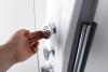 Polysan MOLA termostatický sprchový panel 210x1300mm, nástěnný 80365