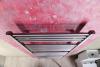 Aqualine DIRECT otopné těleso s bočním připojením 450x1330 mm, 539 W, metalická stříbrná ILS34