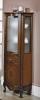 Gallo Wood GIGLIO doplňková skříňka vysoká 50x170x39, 5 cm, noce CG-50