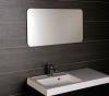 Sapho ISHAPE zrcadlo 1200x600mm, zakulacené rohy, bez úchytu AG612