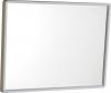 Aqualine Zrcadlo 40x30cm, plastový bílý rám 22436