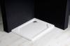 Gelco SARA sprchová vanička z litého mramoru, obdélník 90x75x3, 5 cm, hladká HS9075