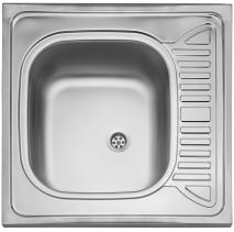 Nerezový dřez Sinks CLP-D 600 M 0,5mm matný STSCPM6006005M