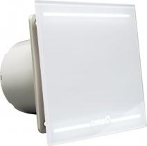 Cata E-100 GL koupelnový ventilátor axiální, 8W, potrubí 100mm, LED podsvícení, bílá 00900001