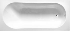 Aqualine JIZERA vana 150x70x39cm, bez nožiček, bílá G1570