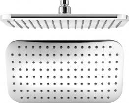 Aqualine Hlavová sprcha, 200x350mm, ABS/chrom SC235