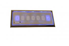 Polysan HM systém TURBO AIR, ovládání Typ L - Elektronické s podsvícením TBL