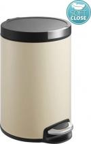 Sapho ARTISTIC odpadkový koš 5l, Soft Close, béžová DR155